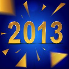 Free Christmas And 2013 New Year Background Stock Photo - 27948400