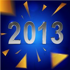 Free Christmas And 2013 New Year Background Royalty Free Stock Images - 27948409