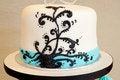 Free Modern Wedding Cake Royalty Free Stock Image - 27953066