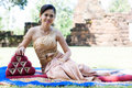 Free Portrait Of A Thai Woman. Royalty Free Stock Images - 27953789