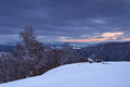 Free Evening In The Mountains In Winter Stock Photos - 27959133