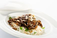 Free Beef Noodles Stock Photography - 27950402