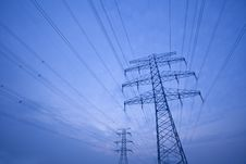 Free Power Tower Stock Photo - 27955000