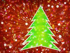 Christmas Tree Applique Stock Photos
