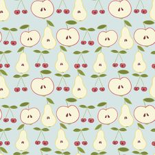 Free Fruit Pattern Stock Photography - 27956372