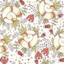 Free Flower Pattern Royalty Free Stock Photos - 27956398
