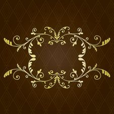 Free Gold Border Stock Images - 27957064