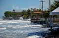 Free Flooded Beach Royalty Free Stock Photos - 27961188