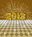 Free Festive 2013 Card Royalty Free Stock Photo - 27967535