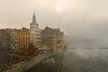 Free Fog Over The River Vltava In Prague Stock Images - 27967654
