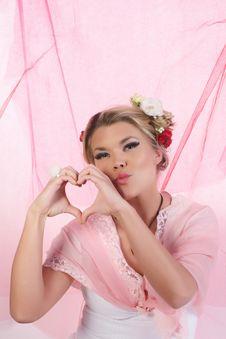 Free Valentine Girl Stock Images - 27960184