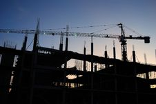 Free Construction Site Royalty Free Stock Image - 27961176