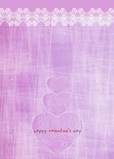 Free Valentine Greeting Card Stock Photo - 27962580