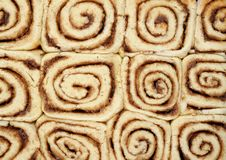 Free Twelve Cinnamon Buns Royalty Free Stock Photo - 27962605