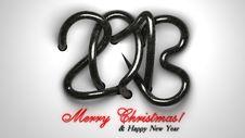 Free Marry Christmas 2013 Stock Photos - 27963933