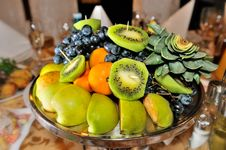 Free Fresh Fruits Attractively Served To The Table Stock Photography - 27968812