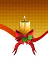 Free Christmas Candle Royalty Free Stock Photo - 27973435