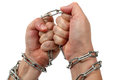 Free Chained Hands Stock Photography - 27975282