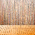 Free Empty Interior Room With Chinese Bamboo Background Royalty Free Stock Image - 27975386