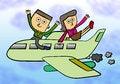 Free Plane Business Stock Photos - 27975443