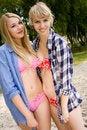 Free Girls On The Beach Stock Photo - 27975880