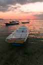 Free Sunset With Boats Royalty Free Stock Photo - 27976035