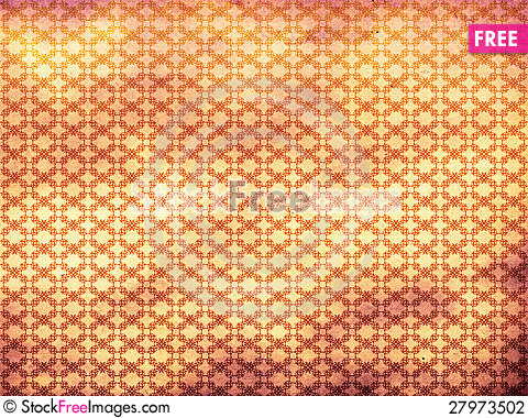 Free Grunge Colorful Floral Pattern Background Stock Photography - 27973502