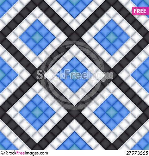 Free Vector Geometric Seamless Pattern Royalty Free Stock Photo - 27973665