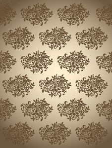 Free Seamless Floral  Background Stock Images - 27971274