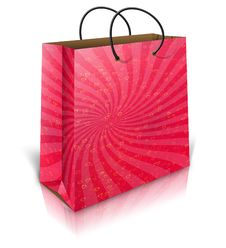 Free Gift Bag Royalty Free Stock Photos - 27973458