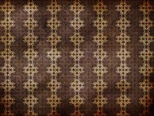 Free Grunge Brown Background With Pattern Stock Photo - 27973540