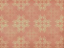 Vitage Flourish Pattern Background