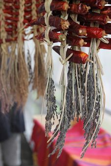 Free Dried Red Chillies Royalty Free Stock Photography - 27973627
