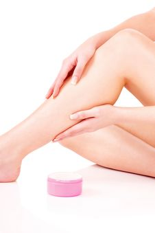 Free Legs Cosmetic Treatment Stock Images - 27975224