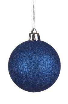 Free Blue Christmas Ball Royalty Free Stock Photography - 27975477