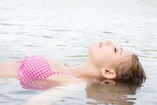 Free Floating To Relax Stock Image - 27975941