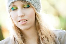 Free Cosmetic Forest Girl Stock Images - 27976344