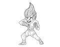 Free Muay Thai Boran : Character Cartoon 2 Stock Photography - 27987992