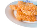Free Fish Sticks In Dish Royalty Free Stock Images - 27988649