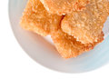 Free Fish Sticks In Dish Stock Photography - 27988682