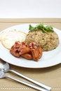 Free Fried Rice Sausage Stock Photos - 27989853
