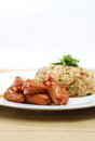 Free Fried Rice Sausage Stock Images - 27989864