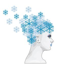 Free Winter Girl With Snowflakes Stock Photos - 27986733