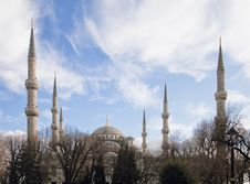 Free Blue Mosque In Istanbul Stock Photography - 27987642