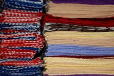 Free Colorful Towels Royalty Free Stock Image - 27988076