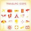 Free Traveling Icons Stock Image - 27992501