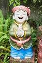 Free Child Sculpture In Garden Stock Image - 27993911