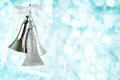 Free Silver Christmas Bells Stock Images - 27995614