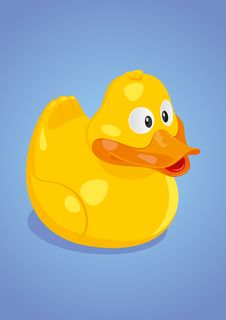 Free Yello_Duck_Vector Stock Image - 27990791