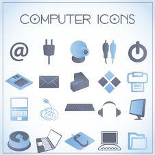 Free Computer Icons Stock Photo - 27992470